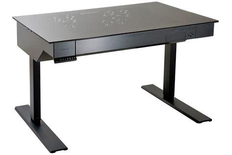 high end lighting lian li 39 s motorized standing desk doubles as a