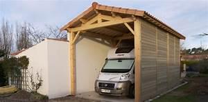 Abri Camping Car Bois : abri la romagne fabricant d 39 abri de jardin ~ Dailycaller-alerts.com Idées de Décoration