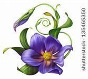 Violet Flower | February birth flower | Body art ...
