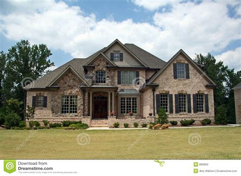 contemporary craftsman house plans class luxury home stock photos image 890663