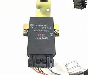 Bmw E31 E32 E34 Parked Ventilation Control Unit Relay Box Wiring 1988