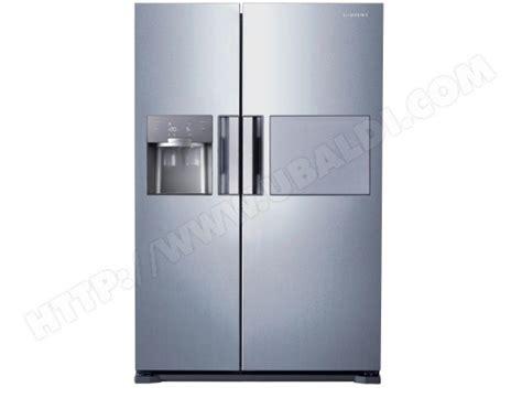 domino de cuisine samsung rs7687fhcsl pas cher réfrigérateur americain