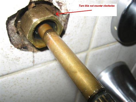 leaking outdoor faucet packing nut water faucet leaking in the bathtub