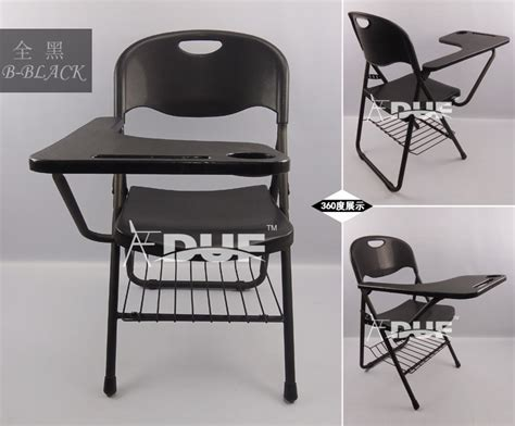 new plastic folding chair big tablet arm chair classroom