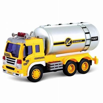 Wheels Friction Powered Wonder Truck Tanker Toy