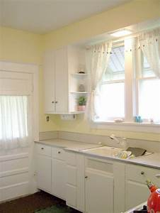 white and yellow kitchen for our house at the lake With kitchen colors with white cabinets with wall art yellow
