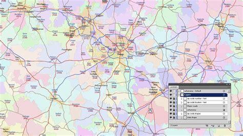 Zip Code Map Of North Carolina And Travel Information