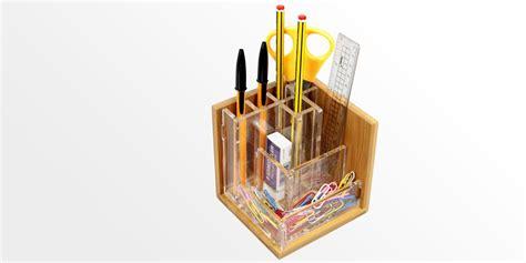 small vases pen holder stationary stand bamboo pensil pot office