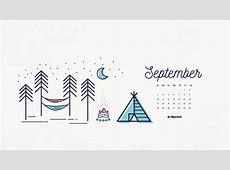 Desktop Wallpapers Calendar September 2018 ·①