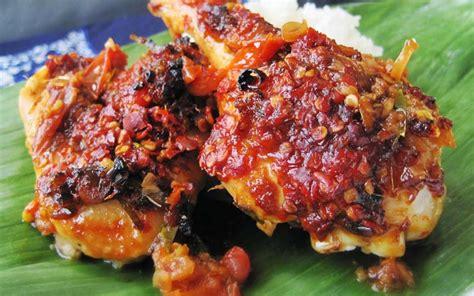ayam plecing menu  awal ramadhan islampos