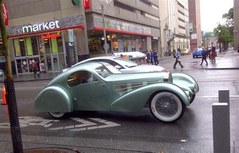 The Lost Bugatti — the rusty car
