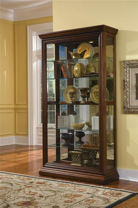 sliding door curio cabinet pulaski furniture curios edwardian two way sliding door