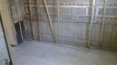 Basement Waterproofing   Basement Wall Vapor Barrier in