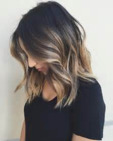 coupes de cheveux mi longs 10 balayage hairstyles for shoulder length hair medium haircut 2017