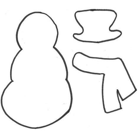 Snowman Template How To Make A Snowman Gift Bag A Printable Pattern And