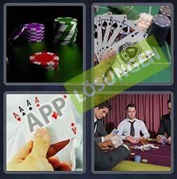 bilder  wort level  loesung poker bilder und