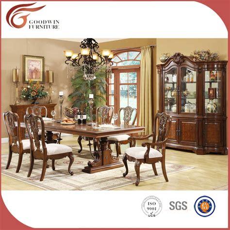 pas cher en bois sculpt 233 table de salle 224 manger ensemble classique salle 224 manger meubles lots