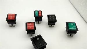 Hot Sale Taiheng Kcd4 6pin Illuminated Rocker Switch