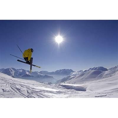 Alpine skiing Gulmarg Ski Resort Jammu Kashmir India