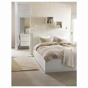 Lit Haut Ikea : malm cadre de lit haut 2 rangements blanc 180 x 200 cm ikea ~ Teatrodelosmanantiales.com Idées de Décoration