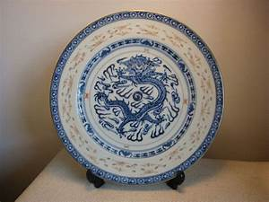 Chinese Imperial Dragon Plate - Fine Porcelain ...