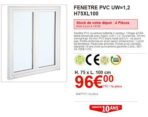 Prix Des Fenetres Pvc Brico Depot
