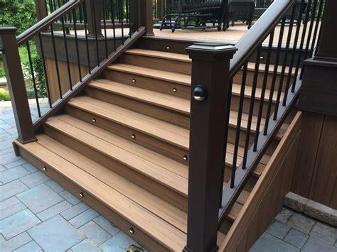 Installing Trex Decking On Stairs by Decks Only Portfolio
