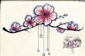 Tattoo Fleur De Cerisier : comment dessiner des fleurs de cerisier ~ Melissatoandfro.com Idées de Décoration