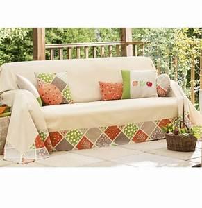 jete de canape biloonet With nettoyage tapis avec plaid canapé orange