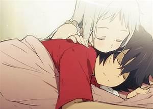 anime, ano hana, sleep - image #259384 on Favim.com