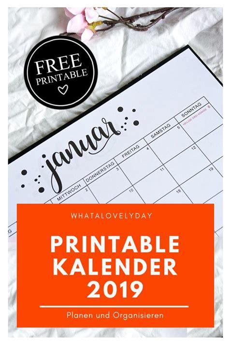 monatskalender freebie zum ausdrucken kalender monatskalender