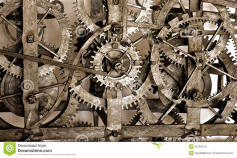 clock gears stock photography image