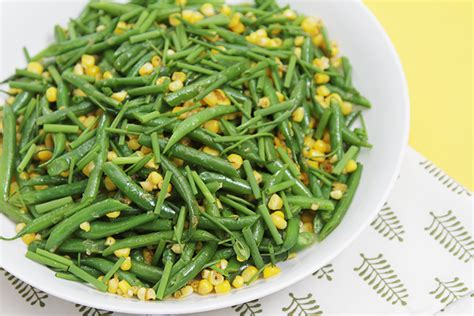 haricots verts cuisin駸 sautéed haricots verts with fresh corn food style