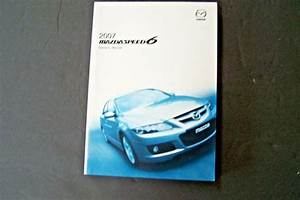 2007 Mazda Speed 6 Owners Manual Service New Original