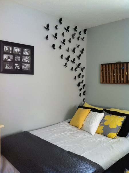 30 Simple Creative Bedroom Wall Decoration Ideas