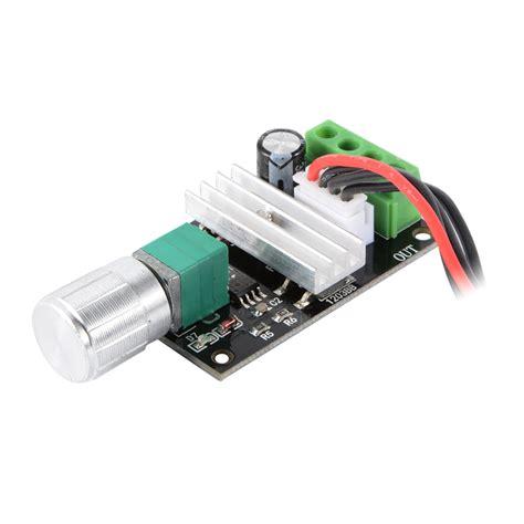 6 24v 3a dc motor speed controller adjustable reversible button switch 6v 12v 24v 3a 80w dc motor driver reversing speed