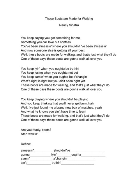 esl songs  teaching english worksheets