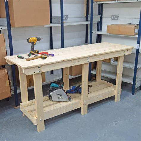 heavy duty workbench ft fully constructed uk