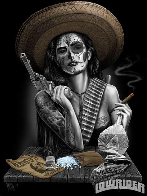 David Gonzales Art - Lowrider Magazine