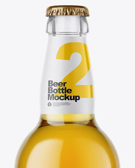 These items are handmade so there may be a few imperfections, such as scratches and small variations in size. Download 330ml Clear Glass Lager Beer Bottle Mockup ...