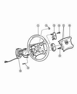 2001 Dodge Ram 2500 Clockspring  Control  Speed  Steering