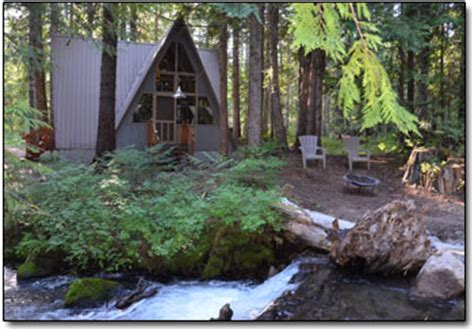 summit meadow cabins unique lodging   mt hood