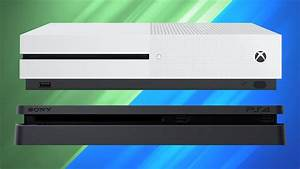 Playstation 4 2016 Slim Vs Xbox One S Comparison Chart