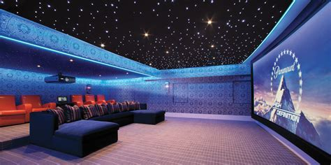 custom home theater led lighting alcove with ceiling