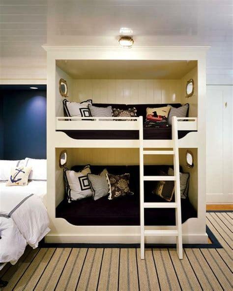built  bunk beds traditional boys room hutker