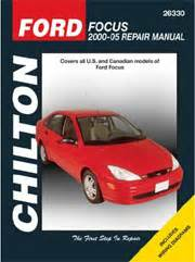 chilton car manuals free download 2008 ford focus on board diagnostic system ford focus repair manual