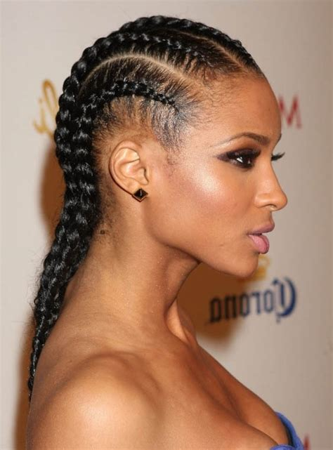 Ciara Cornrow Hairstyle by Ancient History Of Braids And How You Can Get Them