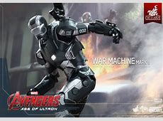 Hot Toys Diecast War Machine Mk II from Avengers Age of