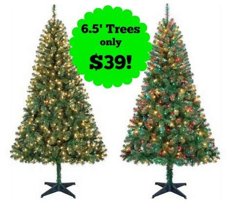 fake christmas trees for sale near me artificial prelit trees menards