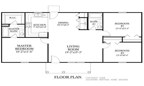Plans 1200 Sq Ft Home Plan And Elevation 1200 Sq Ft Home